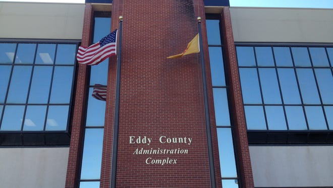 The Eddy County Administrative Complex on Greene Street in Carlsbad, N.M.