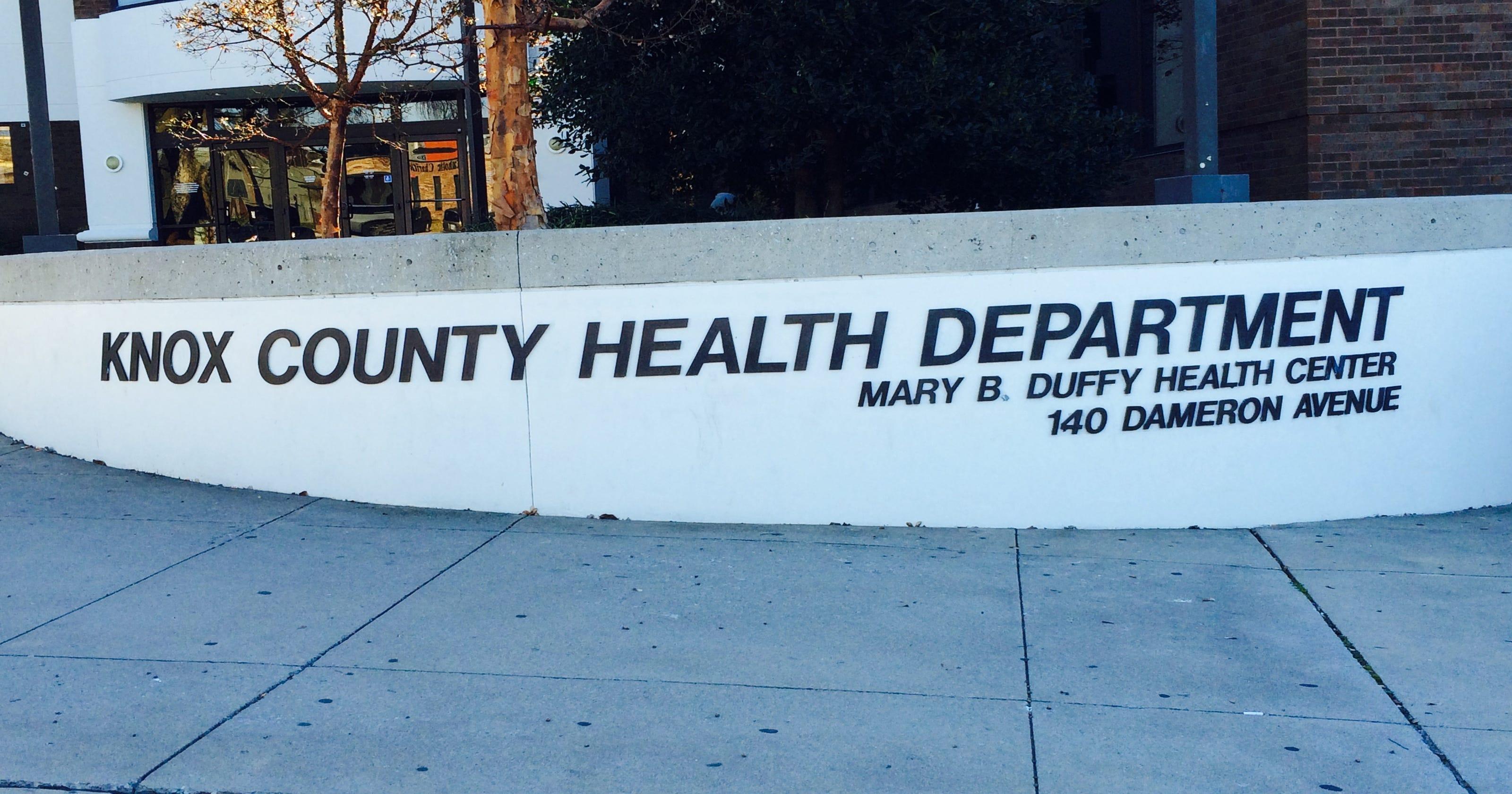 Knox County Health Department restaurant health scores
