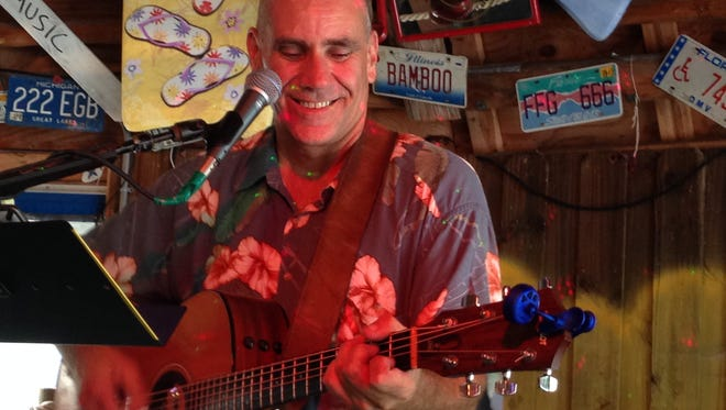 Cape Coral trop-rock musician Scotty Bryan will perform at the Southwest Florida Parrot Head Club's Pit Stop Party on Sunday, Oct. 30.