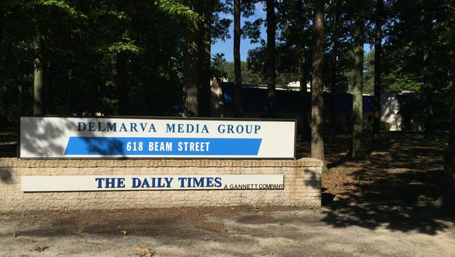 The Delmarva Media Group, which publishes The Daily Times and DelmarvaNow.com, among other publications, is headquarters on Beam Street in Salisbury.
