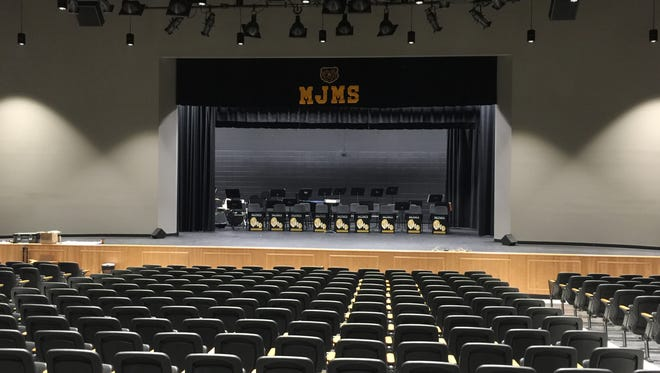 Mt. Juliet Middle unveiled a newly renovated auditorium Oct. 25, 2016.