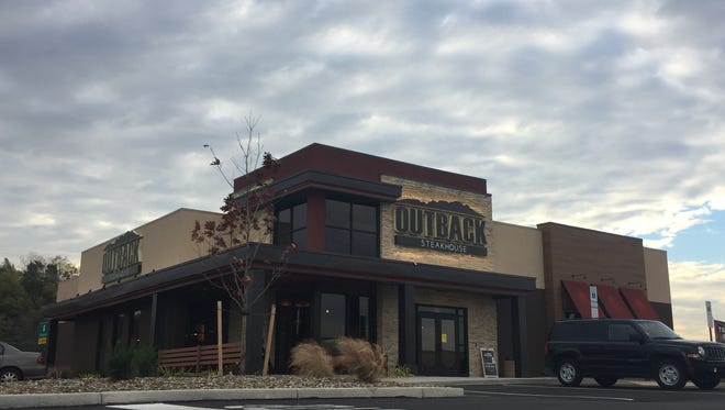 The newest Outback Steakhouse location in the West Manchester Town Center is set to open on Wednesday.