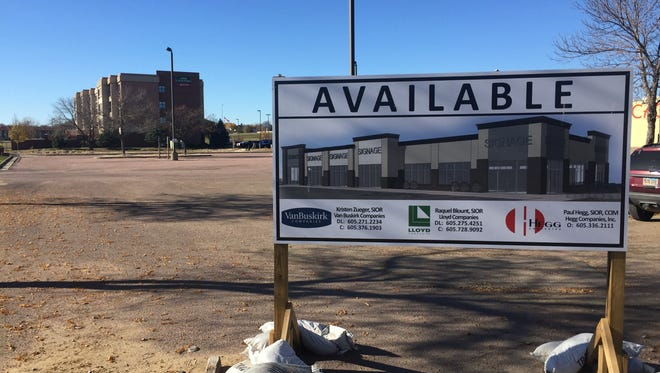 A new retail center is planned near The Empire Mall.