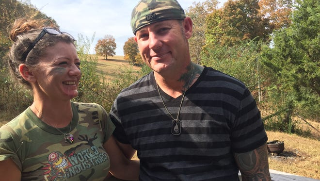 Candice and Kynan Kreidel talk about how her Lyme disease and mental problems have taken a toll shortly after her arrest in October.