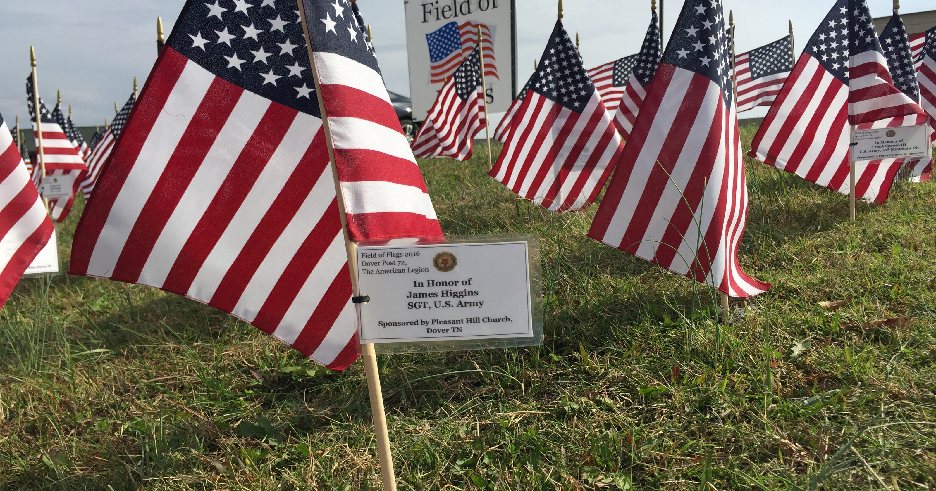 So Pleasant It Is To Have Money Heigh >> Flag Project Honors Vets Raises Money