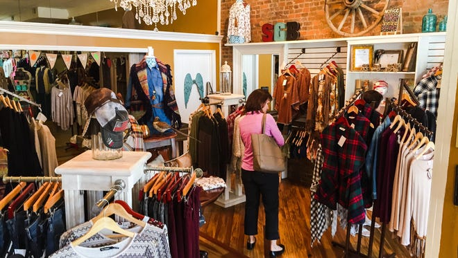 Southern Gypsies Boutique, 114 N. Water Ave., in Gallatin is one of several downtown merchants participating in Tinsel and Treasures Nov. 11-12