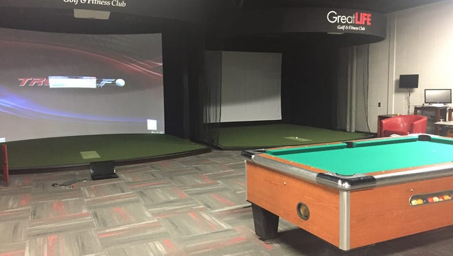 Great Life Suburban Lanes has added golf simulators and a game area.