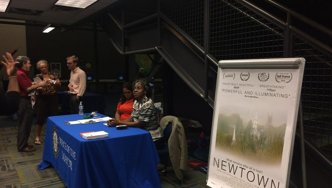 A screening of 'Newton' was held at the Challenger Learning Center on Wednesday, November 2.