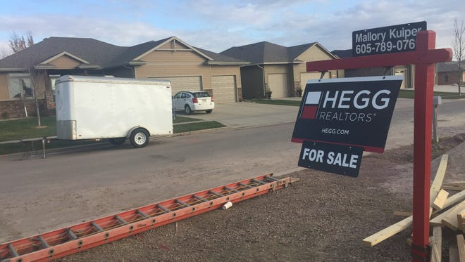 New listings were up 8.5 percent in Sioux Falls in October.