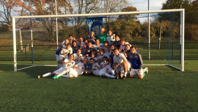 Scotch Plains-Fanwood boys soccer captured the North 2 Group IV title with a 3-1 win over Bridgewater-Raritan on Thursday.