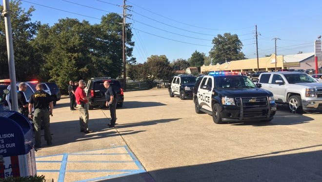 Bossier City Police Department was on the scene at the VFW in the 1300 block of Northgate Road in Bossier City following an incident Tuesday afternoon.