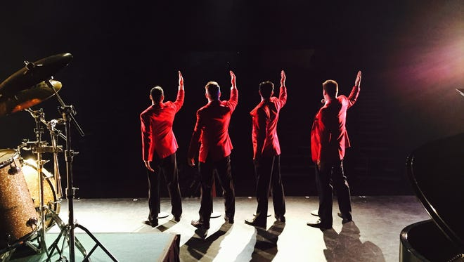 Lets Hang On, a Frankie Valli Tribute Band, is at the Westchester Broadway Theatre