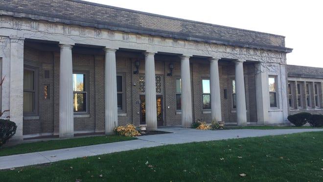 The Martin B. Anderson School 1 building on Hillside Avenue in Rochester.