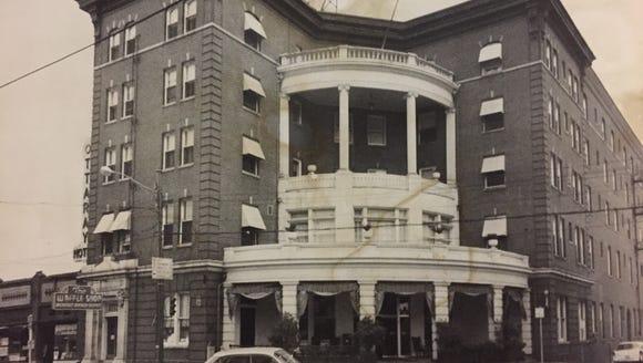 The Ottaray Hotel sat on the property where the Hyatt