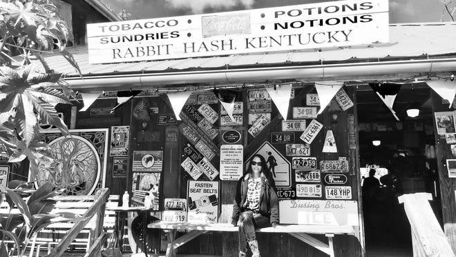 The author in Rabbit Hash