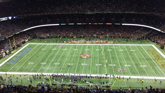 Grambling and Southern meet Saturday in the 43rd Bayou Classic in New Orleans.
