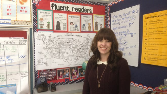 Adrienne Uribe home-schooled her son and liked teaching so much she entered the profession.