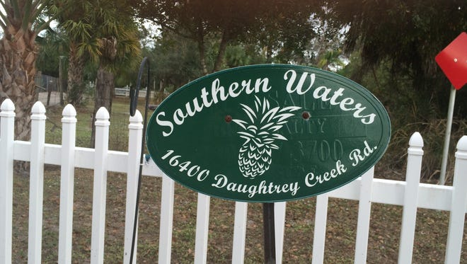 A bankruptcy company wants the Lee County Commission will approve its request to rezone land now zoned for housing as commercial to allow reopening of the Southern Waters wedding venue.