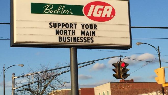 Buehler's IGA on North Main Street
