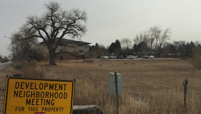 The 119-unit Brick Stone Apartments on Harmony, 201 E Harmony Road,  is planned for a 5-acre site east of South College Avenue.