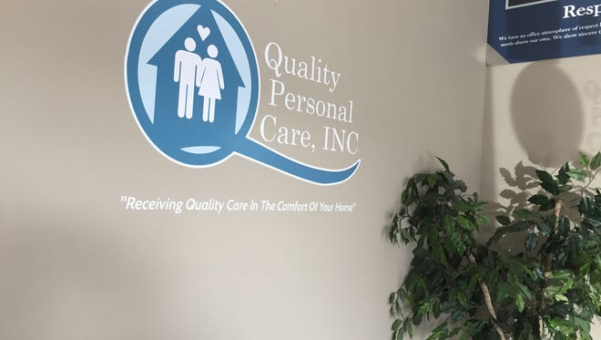 Entrance to the new Quality personal care facility.