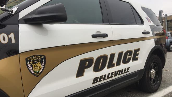 A Belleville Police vehicle