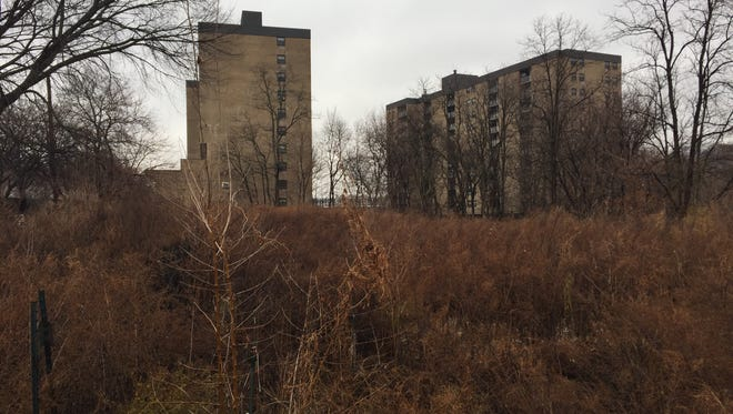 A vacant lot at 324-346 Nepperhan Ave. in Yonkers that is proposed to be sold.