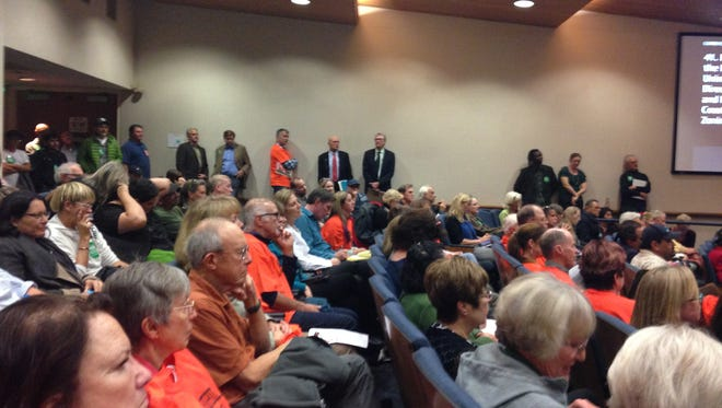 Crowd turned out Tuesday in Ventura for decision on short-term rentals.