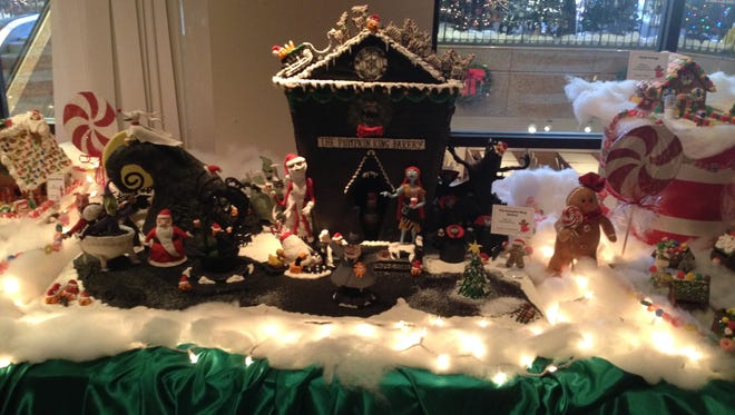 Frost Bake Shop was awarded Best of Show for their Pumpkin King Bakery in this year's Gingerbread Village competition at the Pink Palace Museum.