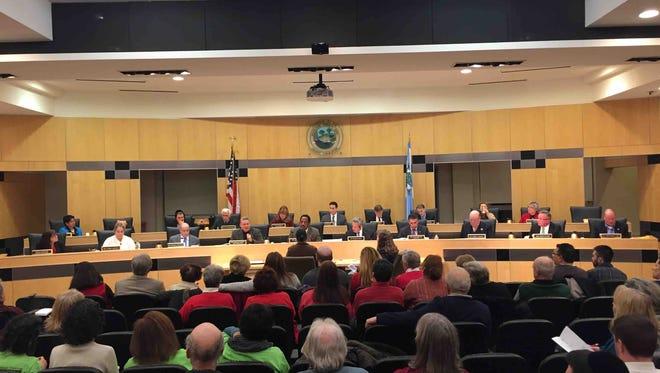 The Rockland County Legislature convenes Monday night.