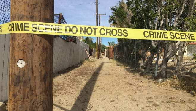 The Desert Hot Springs Police department is investigating a dead body found in the residential area neat the 13800 block of Via Real. The body was found the morning of Dec. 20, 2016.