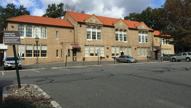 The former Central School, now home to offices and a Wells Fargo bank branch, is seen here in October of 2016.