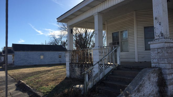 Property in the 400 block of Read Street owned by ECHO Housing Corp. could be the site of a new mid-priced housing development.