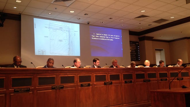Jackson City Council met Tuesday for the first meeting of 2017.
