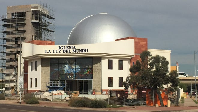 Iglesia La Luz del Mundo in downtown Phoenix, just south of Interstate 10.