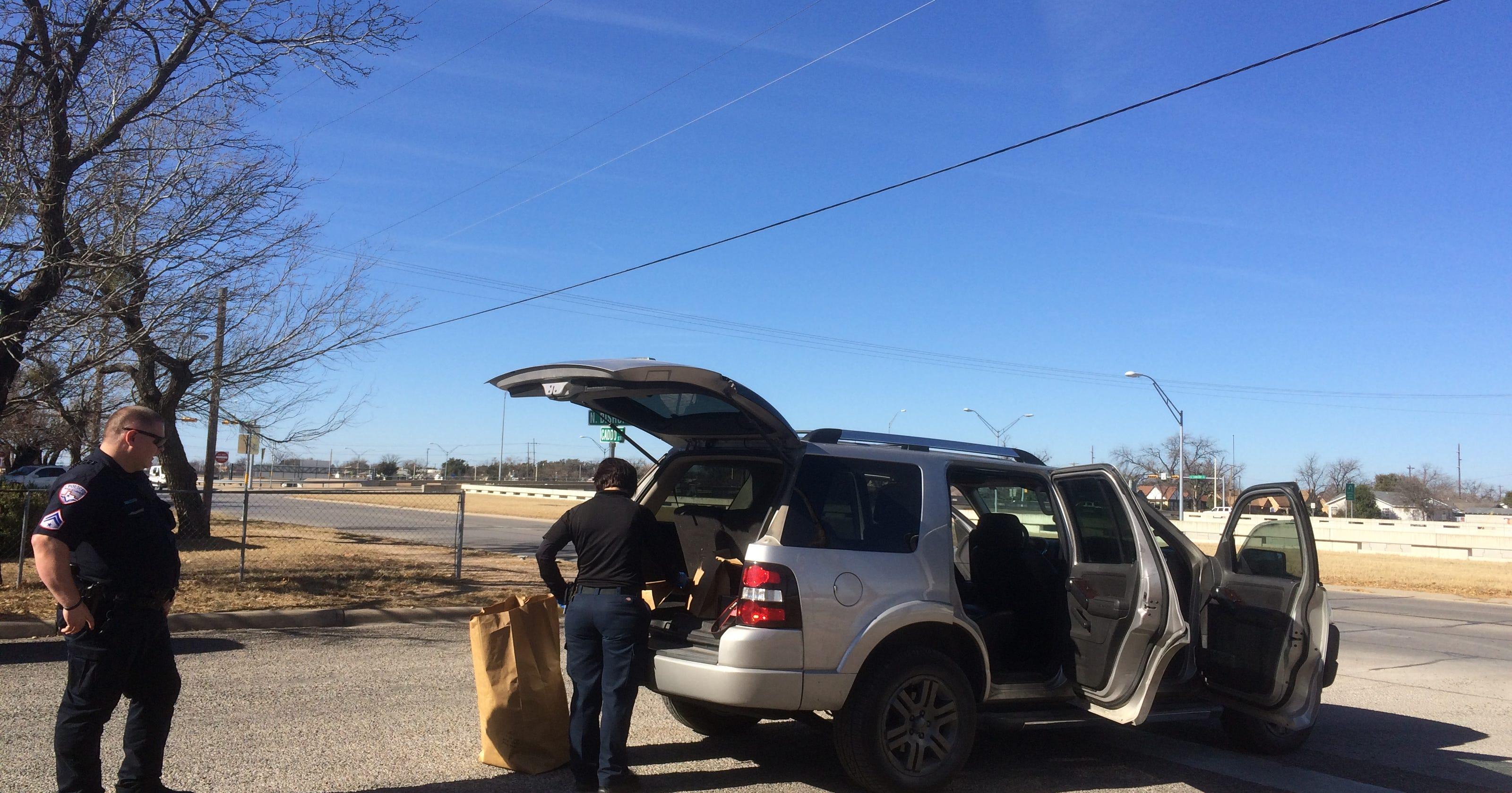 SAPD arrests man found asleep in a stolen vehicle