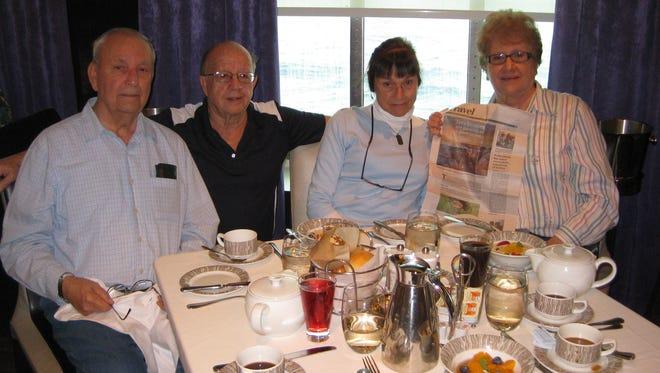 Tom Mormilo, Bob Wright, Susan Wright and Liz Mormilo.