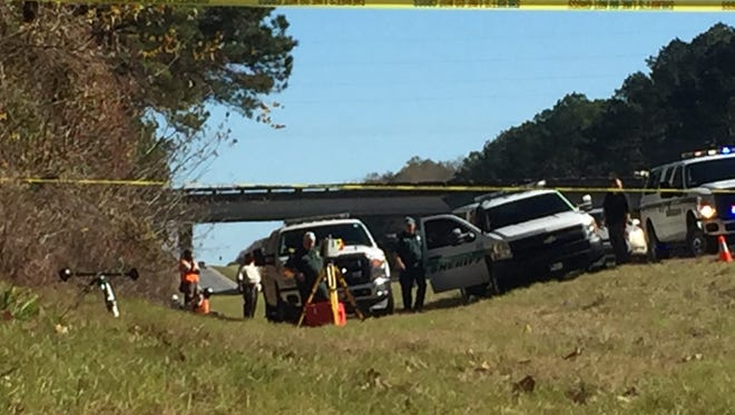 The Leon County Sheriff's Office is investigating a shooting on I-10