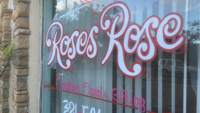 Rose's Rose Creative Floral & Gifting is located at  627 Brevard Ave., Cocoa.