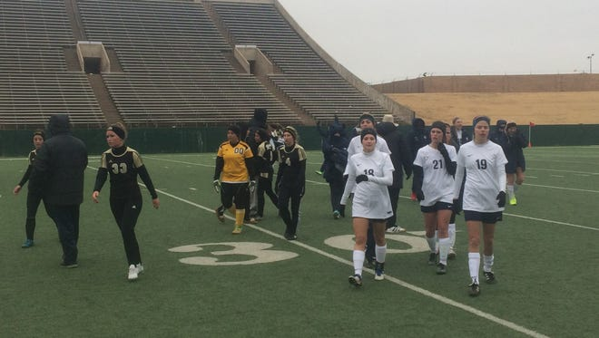 Keller defeated Rider, 5-1, on a cold afternoon Friday at Memorial Stadium. The Class 6A Indians have outscored WFHS and Rider, 8-1, in the United Invitational.