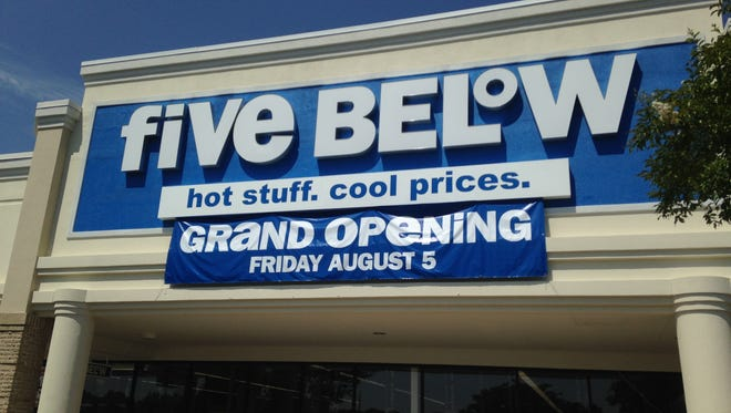 photos by DAVID THOMAS/The Jackson Sun FIve Below will hold its grand opening Aug. 5. FIve Below will hold its grand opening Aug. 5.