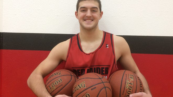 Pulaski senior Luke VandenHeuvel has a 4.0 GPA and is a three-sport athlete.