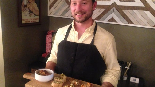 Culinary consultant John Smith prepared new menu items now offered on Rhino Coffee downtown bar menu.