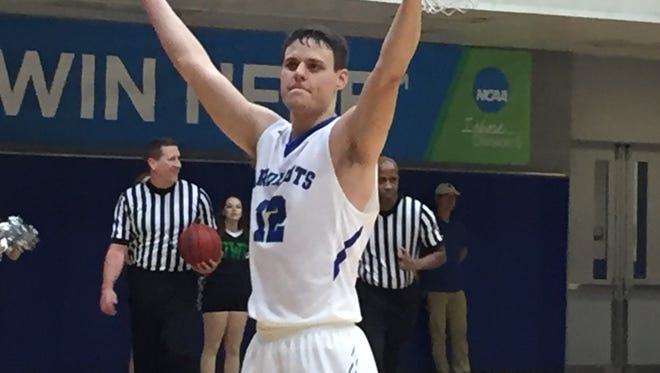 UWF senior guard Jason Laattsch helped lead another comeback win Thursday night in road game at North Alabama.