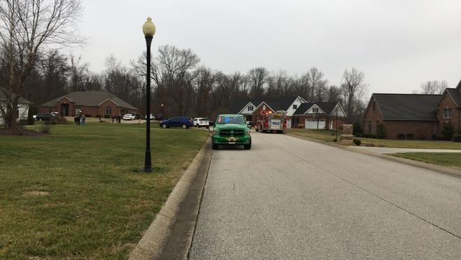 Deputies and Scott Township Fire responded to an assault in progress at 425 Shillington Dr. in Darmstadt.  Central Dispatch confirmed they received the call at 7:06 a.m.