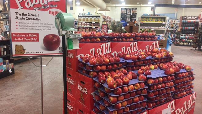 The Pazazz apple is for sale at several Sioux Falls Hy-Vee stores.