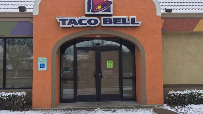 Taco Bell in Silver City permanently closed its doors over the weekend.