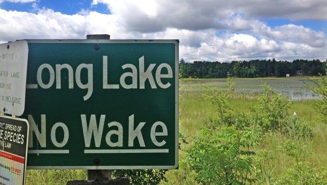 Long Lake in Waushara County has lost much of its water in the past decade, largely due to large-scale irrigation in the region.