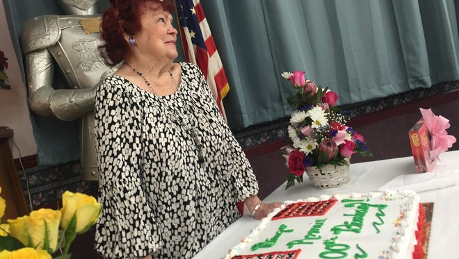 Ronnie LaRose, of Binghamton, turned 100 on Jan. 19.