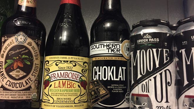 Chocolate and raspberries in beer form make up Jeff Baker's list of Valentine's Day beers to buy your love (or yourself).